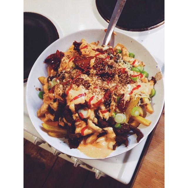 Kimchi Fries